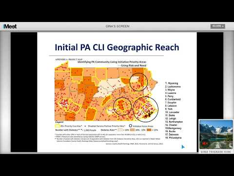 PA CLI Leadership Sustainability Group Introduction and Goals
