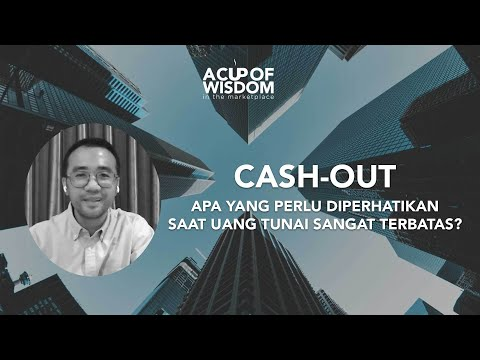 CASH-OUT — A Cup of Wisdom in the Marketplace