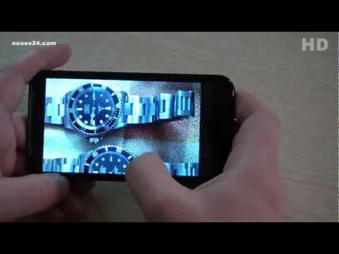 Cebit 2013 Pearl SPX 12 Smartphone