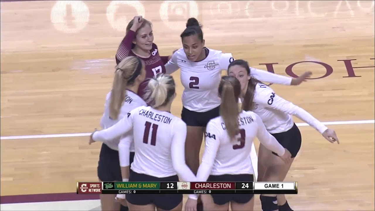 Sports Head Basketball Cool Kids Club - Cofc volleyball vs william mary highlights