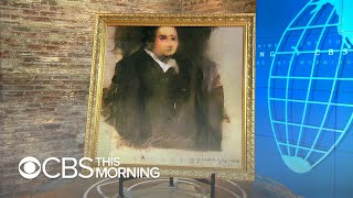 Christie's first to auction portrait created by artificial intelligence