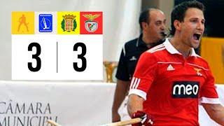 Vídeo amb els gols del CE Noia 3-3 SL Benfica