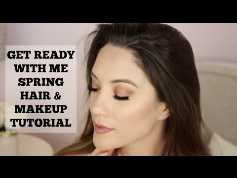 Get Ready W/ Me! Everyday Spring Makeup & Hair Tutorial | Blair Fowler