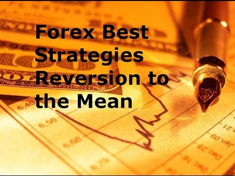 Forex mean reversion strategy