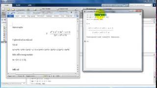 Matlab - ĐKTĐ - Biểu diễn hàm truyền trong Matlab