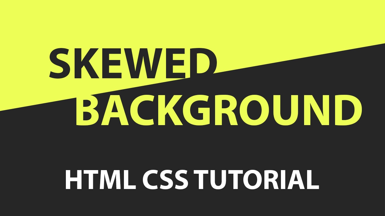 2 background images css - Css Skewed Background Tutorial Pure Css Tutorial