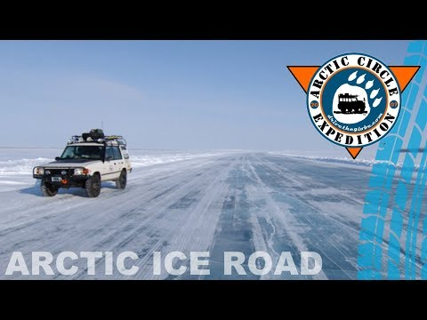 Arctic Ice Road To Tuktoyaktuk