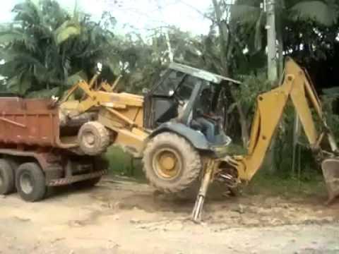 Como Subir Una Maquina A Un Camion
