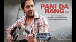 Pani Da Rang | Vicky Donor | Karaoke Song With Lyrics