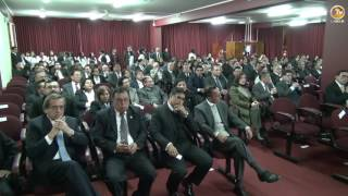Tema: Ceremonias de Asunción al Cargo de Decanos de Psicología y Contables