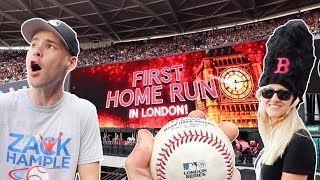 EPIC DAY at the London Series — 1st MLB game in Europe