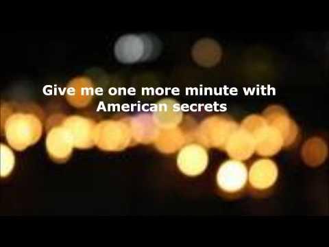 American Secrets by Parachute {Lyrics}
