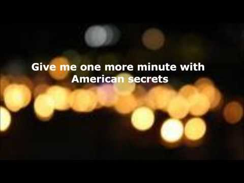 American Secrets by Parachute {Lyrics}