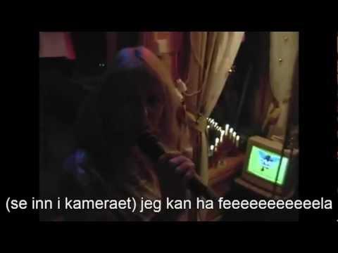 Elin Støa - Karaoke - Det börjar värka kärlek banne mej ( Innspilt Med Publikum )