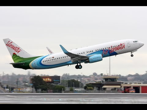 Prepar 3D - IVAO | Boeing 737-800 Air Vanuatu | Nadi/Fiji to Bauerfield Airport/Port Vila-Vanuatu
