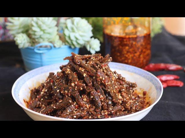 Szechuan Hot And Spicy Crispy Beef [麻辣冷吃牛肉]
