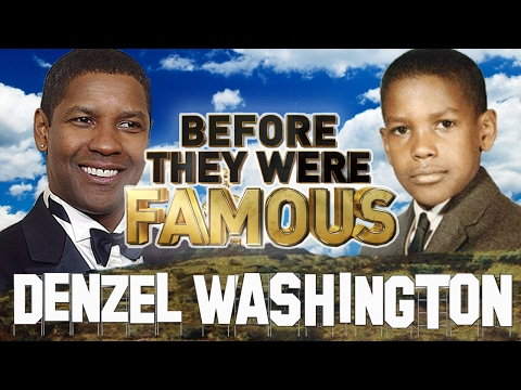 DENZEL WASHINGTON - Before They Were Famous - Fences