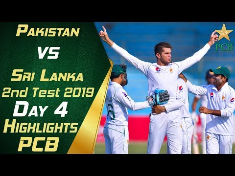 Pakistan vs Sri Lanka 2019 | Full Highlights Day 4 | 2nd Tes