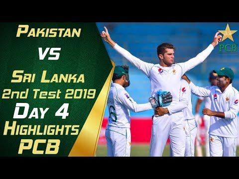 Pakistan Vs Sri Lanka 2019 | Full Highlights Day 4 | 2nd Test Match | PCB