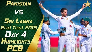 Pakistan vs Sri Lanka 2019 | Full Highlights Day 4 | 2nd Test Match | PCB