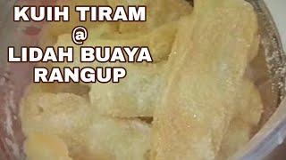 Resepi Kuih Tiram Lidah Buaya Rangup Youtube