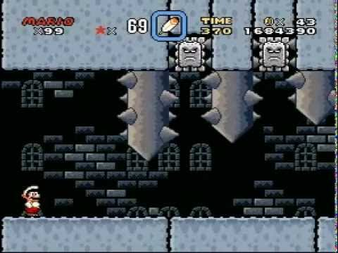 Repeat Super Mario World - Bowser Castle (Front Door) and
