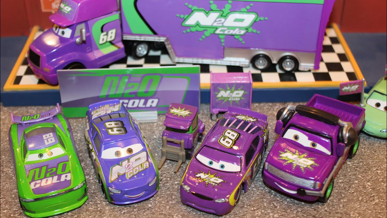 Mattel Disney Cars Team N20 Cola (Next-Gen, Racers, Pitty, Crew Chief, Hauler) Piston Cup Ep. 5