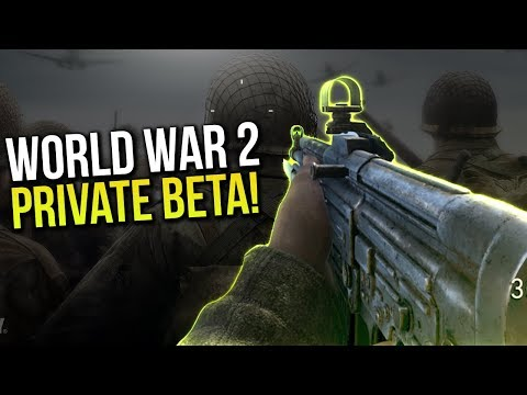 FREE WW2 BETA CODES!!! CALL OF DUTY WORLD WAR 2 PRIVATE BETA w/ DooM Jars
