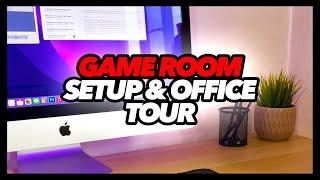 Game Room Setup & Office Tour
