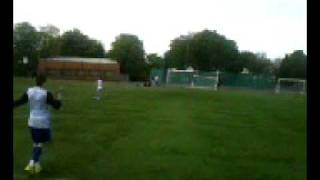 Lee Charlton crossbar challenge take 1