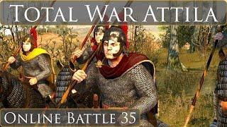 Total War Attila Online Battle 35 Heir Takes Rome?