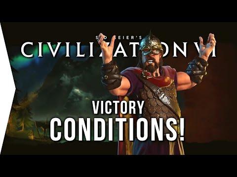 Civilization VI ► The 5 Victory Conditions in Civ 6!