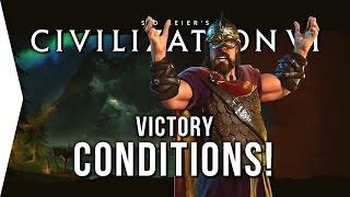 civilization vi the 5 victory conditions in civ 6