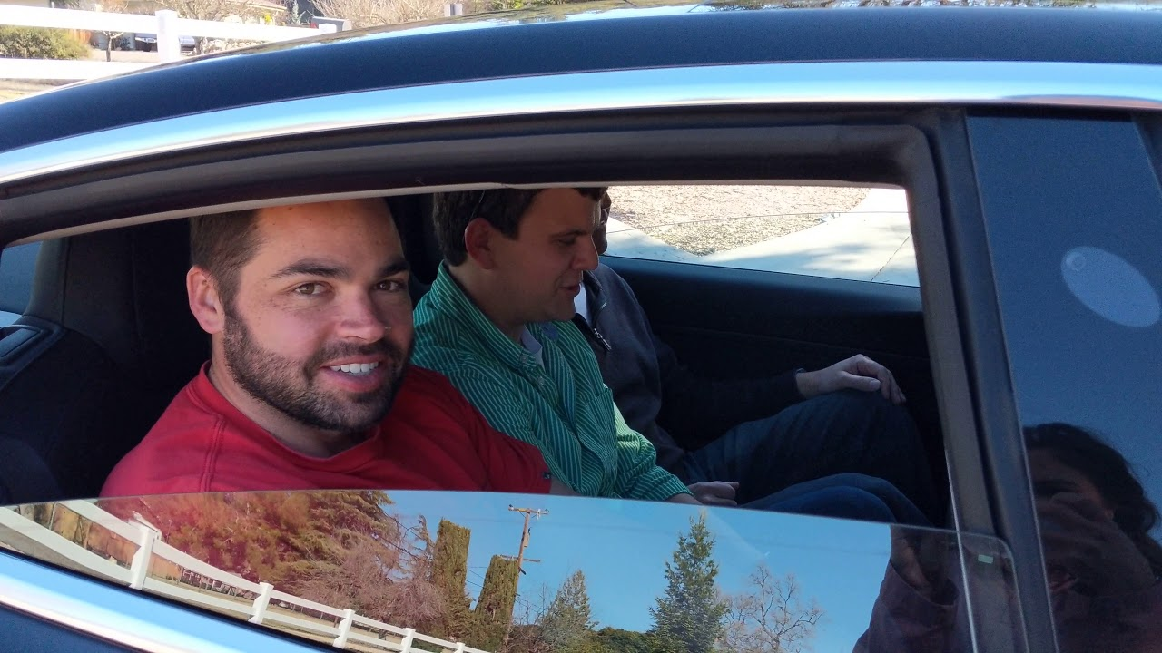 Can You Fit Three Adults In The Model 3 Rear Seats Viewer Request Youtube