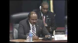 Palabras de Gastron Alphonso Browne, en la clausura de la V Cumbre CARICOM-Cuba