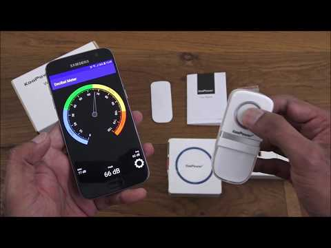 Wireless Doorbell, No Battery Required by KooPower [Hands on Review and Test]