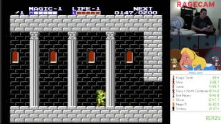 Zelda II Palace 1 safe strats tutorial
