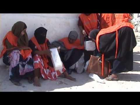 Child Health Days campaign in Mogadishu, Somalia