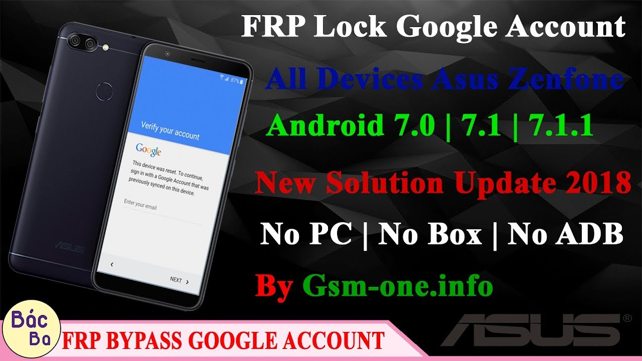 google account bypass apk 7.1.1