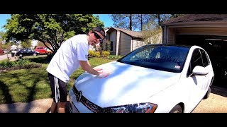 homepage tile video photo for 2018 VW GTI SE Ep.210: Polishing the Hood, Hanging Out