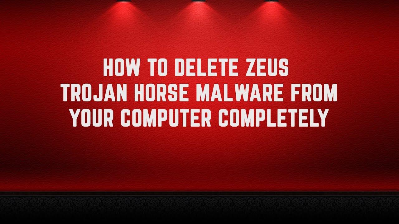 remove zeus virus from windows 10