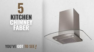 Top 10 Kitchen Chimney Faber [2018]: Faber 60 cm 1000 m3/h Chimney (Hood Ray Plus LTW 60, Steel)