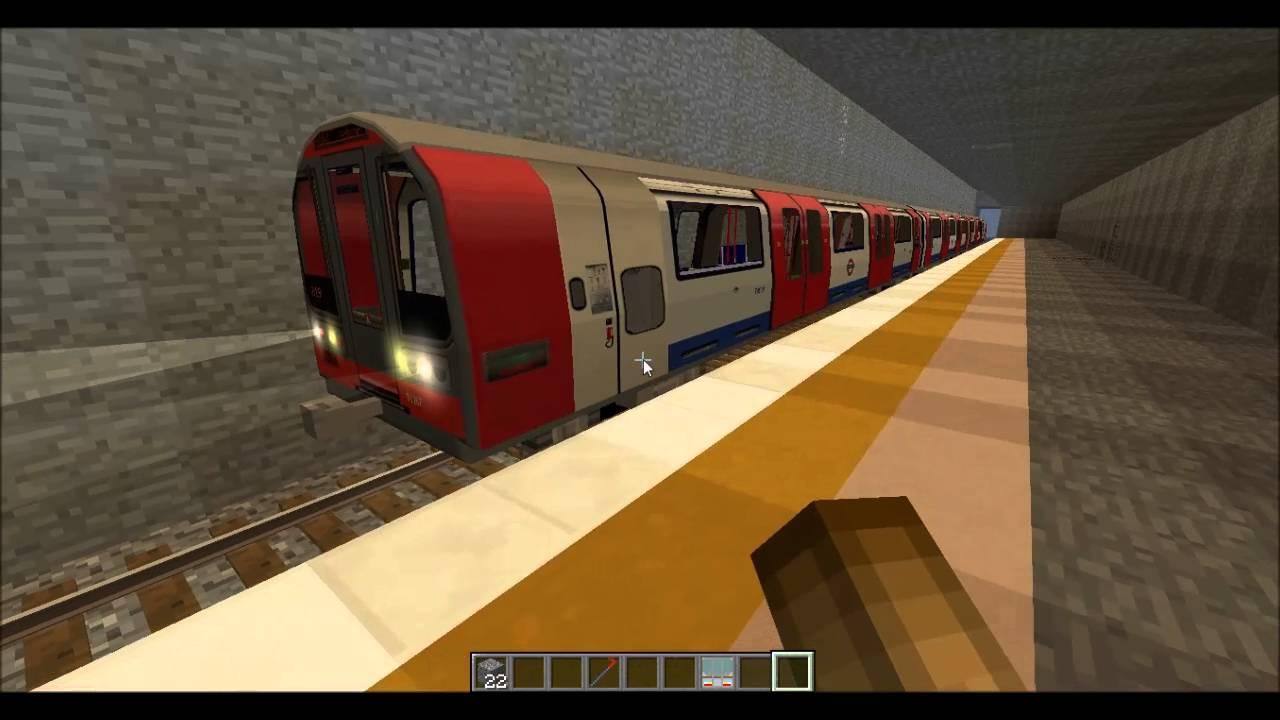 London Underground In Minecraft Beta 0 0 1 Epic