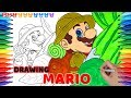 How to Draw Super Mario Odyssey #97 | Drawing Coloring Pages for Kids