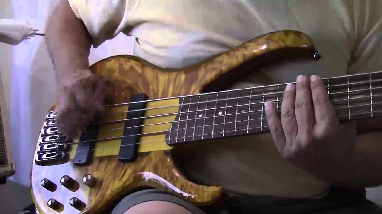 ibanez 776 six string bass youtube