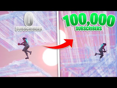 0 To 100k Subscribers! My 2020 Fortnite Evolution On PC (Keyboard & Mouse Progression)
