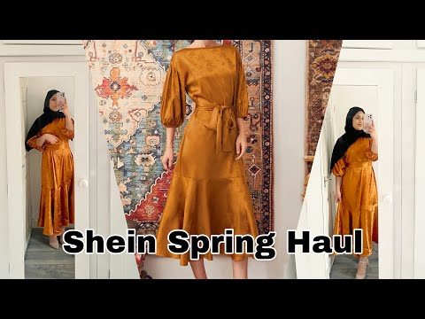 SHEIN SPRING OUTFIT IDEAS | NEW IN | MODEST EDITION