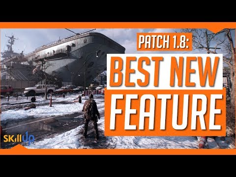 The Division | Patch 1.8's Best New Feature Reduces The Grind (Optimisation)
