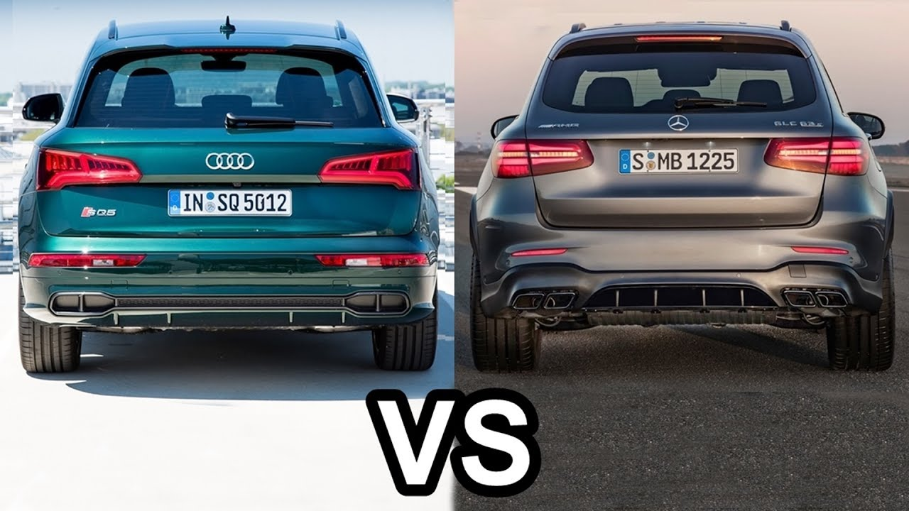 2018 Audi Sq5 Vs Mercedes Amg Glc 63 S 4matic