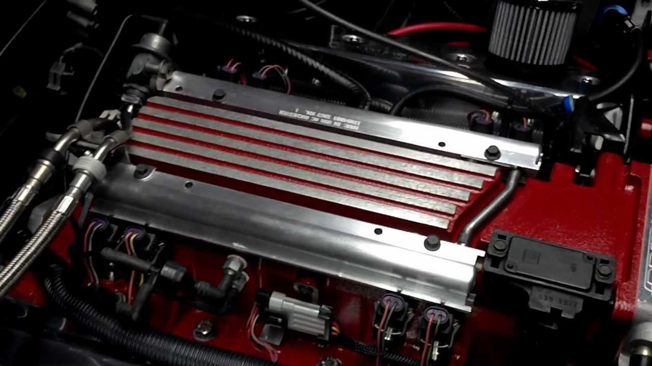 My New Golen Engine Service LT1 383 For My 1994 Corvette ...